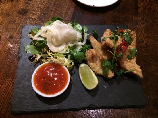 The Vineyard Restaurant: Delicious squid