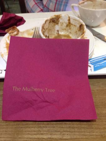 The Mulberry Tree Restaurant: Not really a £20 meal experience
