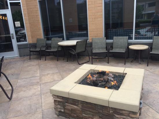 Hilton Garden Inn Fort Worth Medical Center: Fire Pit
