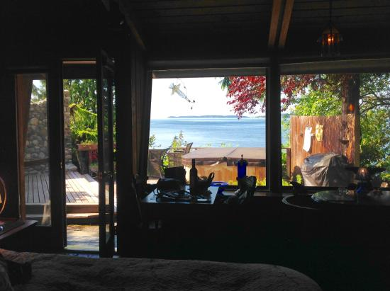 The Salish Seaside Escapes: View from the room