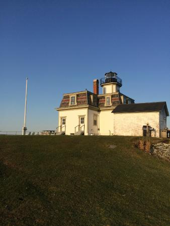 Rose Island Lighthouse: The lighthouse