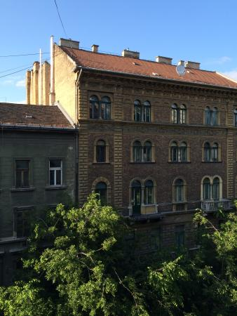 Hipster Hostel: View from the dorm
