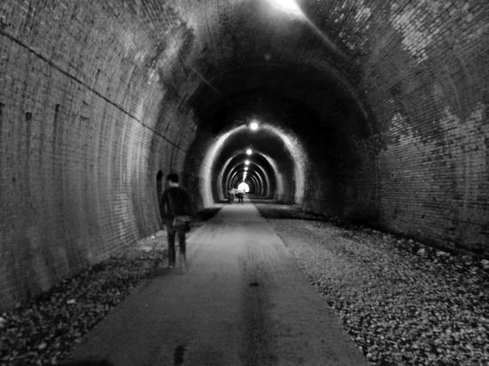 Ashbourne Tunnel: © Rachel Prince (Melty Critic)