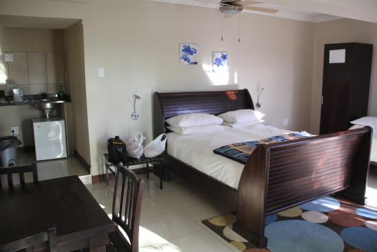 Klein Windhoek Guesthouse: View of my room which was spacious