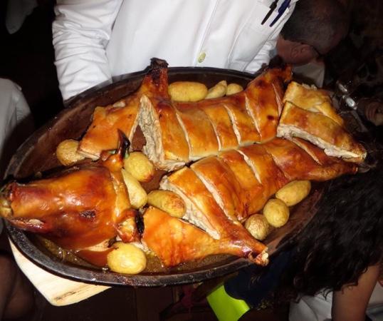 Botin's Roast Suckling Pig - Picture of Restaurante Botin, Madrid ...