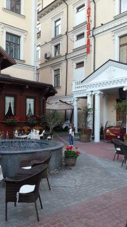 Kleopatra Hotel: nice and comfortable. spacious rooms, polite stuff. situated near Cathedral and in 10 minutes to