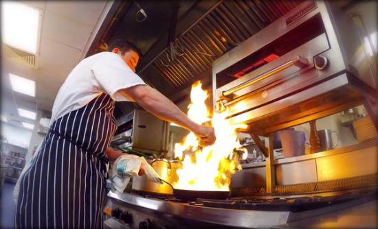 The Restaurant at Fitzwilliam Hotel: Flame