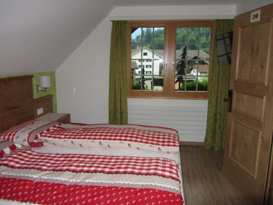 Gasthof Hirschen : Our room on the upper floor