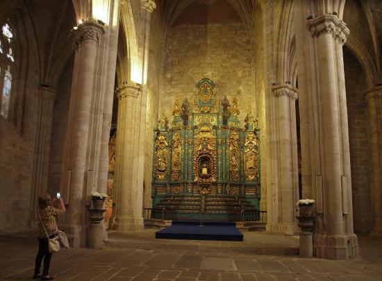 Catedral de Plasencia: Altar