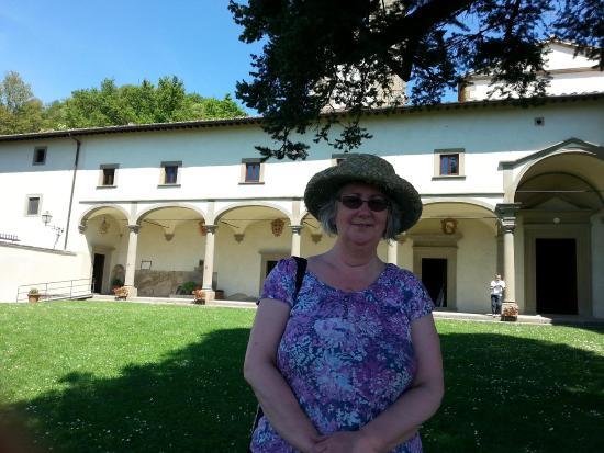 Santuario Madonna delle Grazie al Sasso: In front of the Sanctuary building