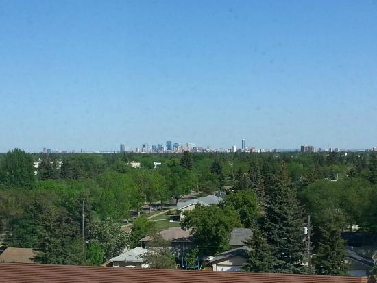 DoubleTree by Hilton Hotel West Edmonton: Great Downtown View from 7th Floor