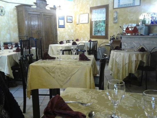 Arco dei Nobili: sala da pranzo