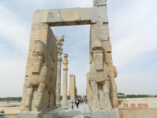 Persepolis, Iran: Porta di Serse