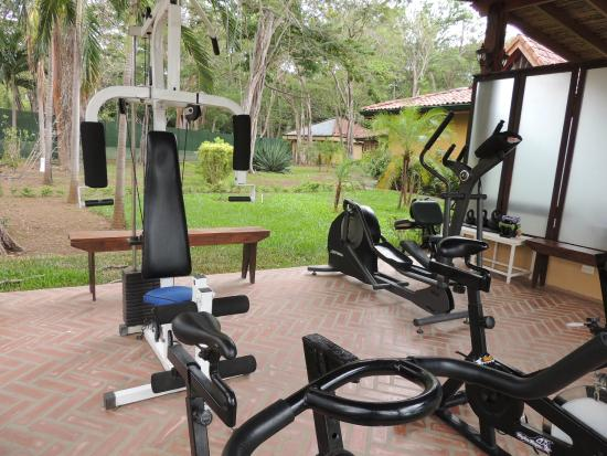 Outdoor gym picture of casa conde beach front hotel playa