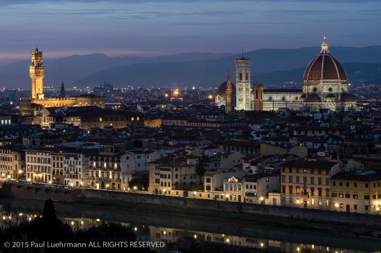 Italian Florence: Piazzale Michelangelo