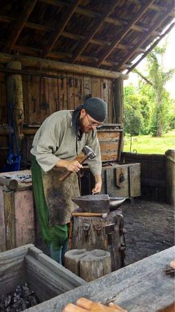 Mission San Luis de Apalachee: blacksmith