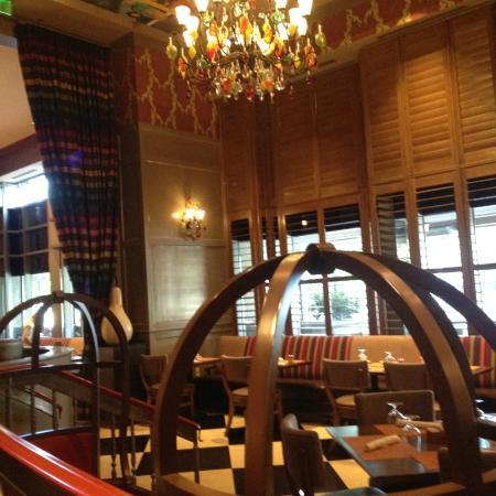 southern art bourbon bar restaurant decor