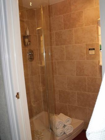 Ford House Farm: Biig roomy and powerful shower. lots of hot water