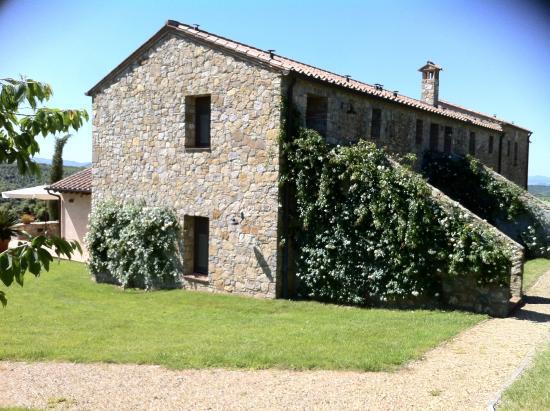 Podere Carceroni: the converted farmhouse