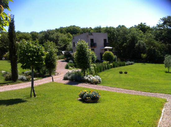 Podere Carceroni: the gardens