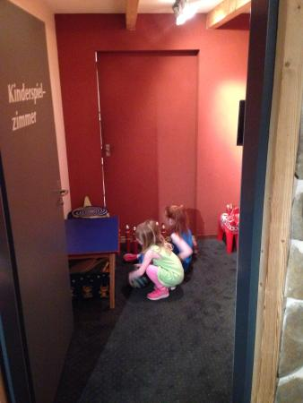 Barry's: Our girls in the playroom