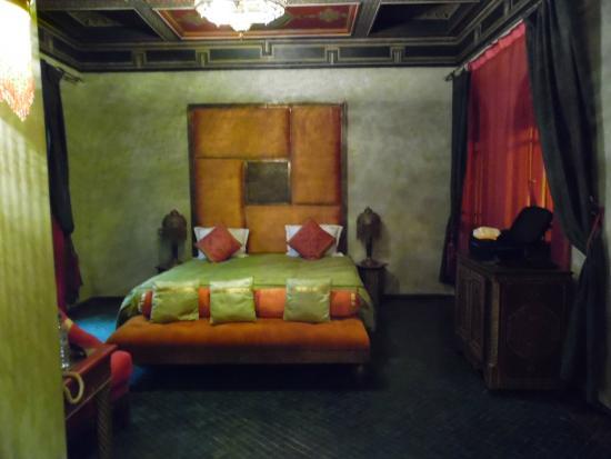 Riad Mumtaz Mahal : chambre