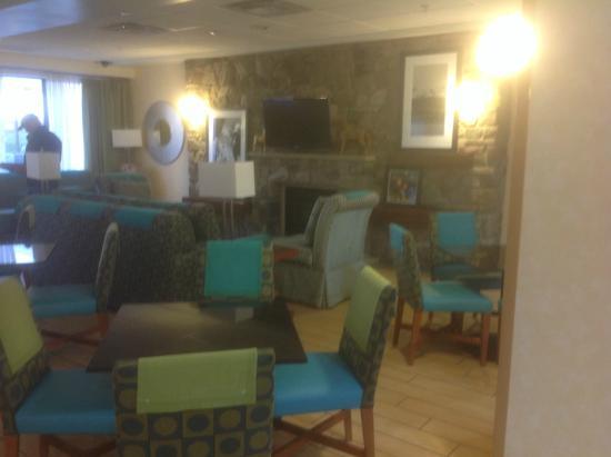 Hampton Inn Cheyenne: Reception