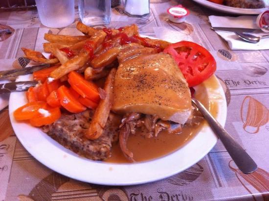 Little Bras d'Or, Канада: Hot Turkey Sandwich