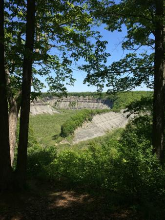 Upper Falls Picture Of Letchworth State Park Castile Tripadvisor
