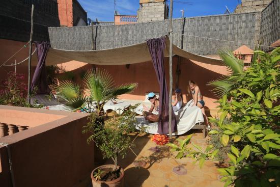 Riad Diarna: Terrasse