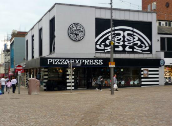 Pizza Express Blackpool Picture Of Pizza Express