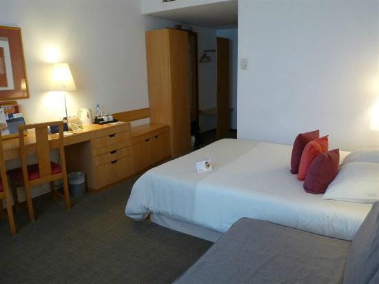 Hotel Novotel Szczecin Centrum: Zimmeransicht