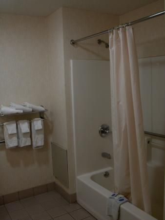 Motel 6 Harrisburg - Hershey North : The bathroom was huge.