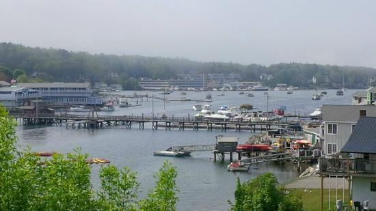 Harbour Towne Inn on the Waterfront: Our view from our deck