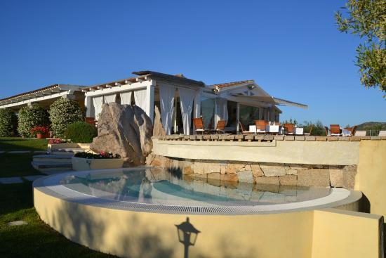 Cento Ulivi: terras aan het zwembad en locatie om te dineren