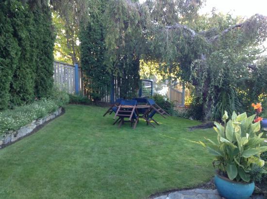 Shelbourne Villa: Front garden area