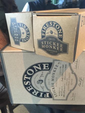 Firestone Walker Brewing Company: Stickee Monkee
