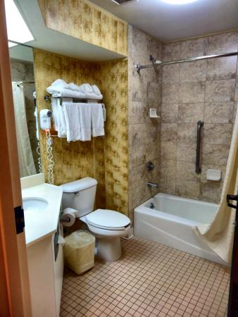 Comfort Inn : The bathroom