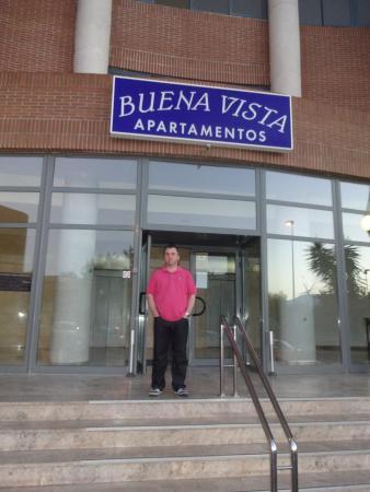 Buenavista: front of hotel