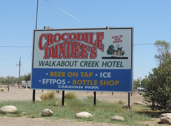 McKinlay, Austrália: walkabout creek hotel,Sept 2014