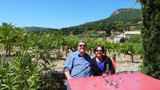 Suzette, France : View from the Patio