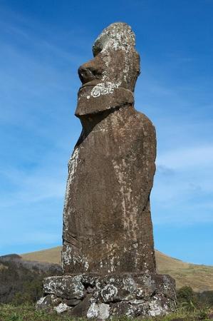 Ahu Huri a Urenga: Moai de 4 braços.