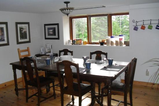 La Grange : Dining room for breakfast