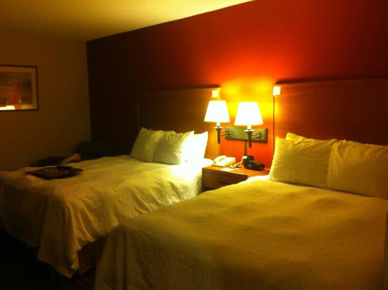 Hampton Inn Philadelphia King of Prussia: bedroom
