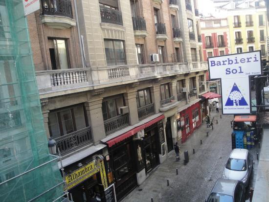 Barbieri Sol Hostel: vista de cima