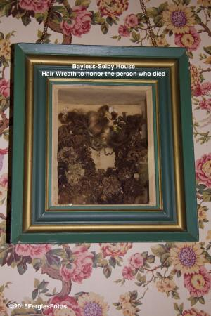 Bayless-Selby House Museum: Hair Wreath