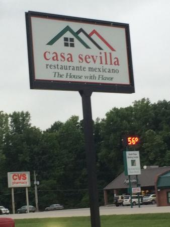 Bloomfield, IN: Casa Sevilla