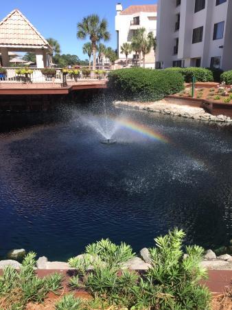 ماريوتس هاربور بوينت آند صن سيت بوينت: Fountain