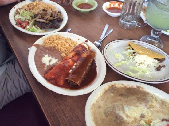 Miguel's Restaurants Incorporated: So much food!