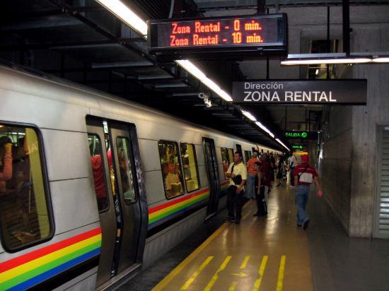 2019年 Metro de Caracasへ行く...